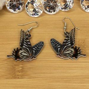 Demoleus Butterfly Earrings